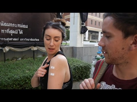 Bangkok, Thailand | Getting vaccinations in Thailand! | South East Asia Travel Vlog E05