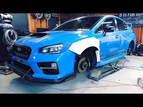 How To Widebody A 2016 WRX STI - Pt 1