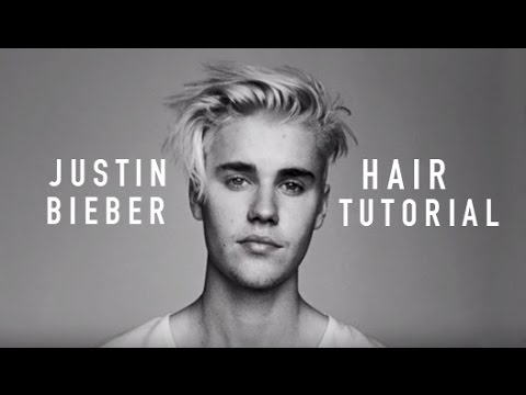 HOW TO: JUSTIN BIEBER HAIRSTYLE TUTORIAL 2016