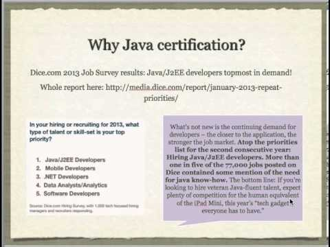 Cracking Oracle Java Programmer Certification - Part I