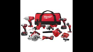 Milwaukee 9 Tool Kit from Home Depot Black Friday Sale - How to Unbox and What it Looks Like
