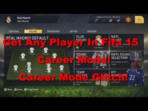 Fifa 15 Career Mode Free Players! Get Any Player! Glitch/Cheat/Hack PS4/PS3 Xbox 360/Xbox One