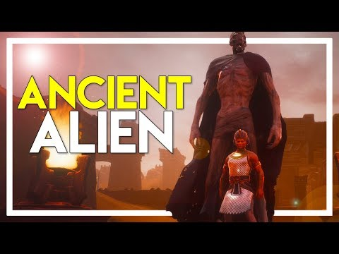 Conan Exiles Gameplay - Part 19: Found an ANCIENT ALIEN - Unnamed City!