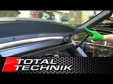How to Remove Tailgate Upper Window Trim Panel (Avant) - Audi A6 S6 RS6 - C5 - 1997-2005