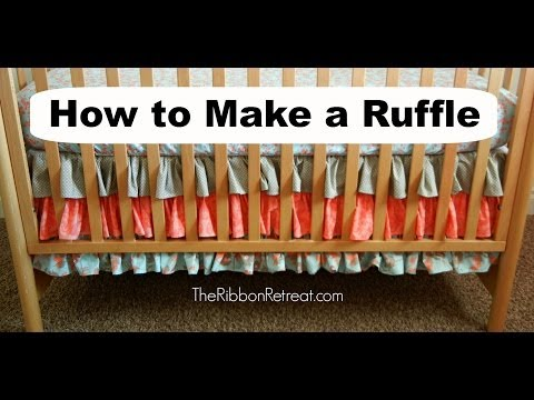 How to Make a Ruffle - TheRibbonRetreat.com