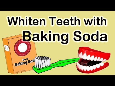 How to whiten teeth at home with Baking Soda | Simple Steps for Using Baking Soda