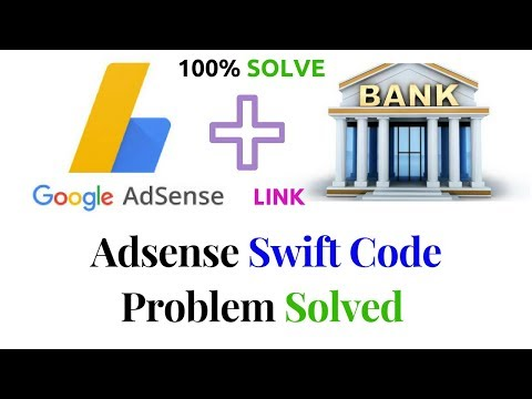 Adsense Swift Code Problem Solved ? How to add Payment Method with Google Adsense