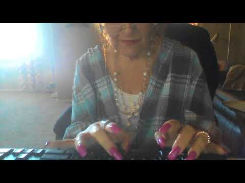 Typing with Long Nails ASMR