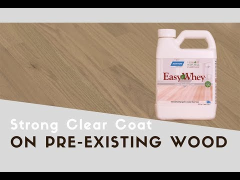 Renew Hardwood Floors Without Sanding - EasyWhey Clear Bonding Coat