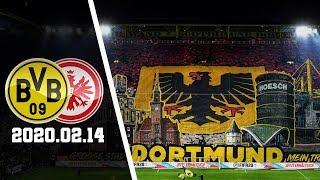 Dortmund-Fans Choreo | Borussia Dortmund - Eintracht Frankfurt 2020.02.14 | BVB - SGE 4:0