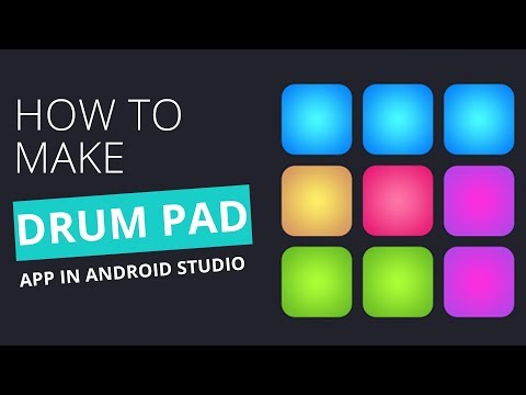 How to make a Simple Drum Pad App in android Studio