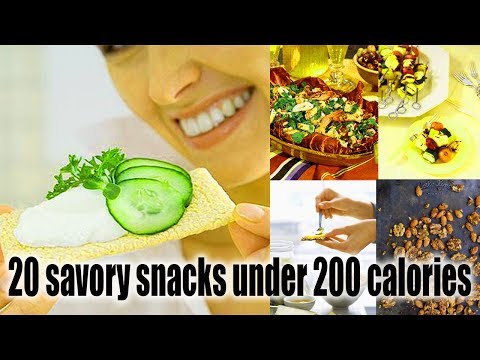 20 savory snacks under 200 calories