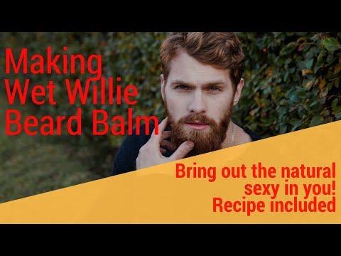 Making Wet Willie Beard Balm