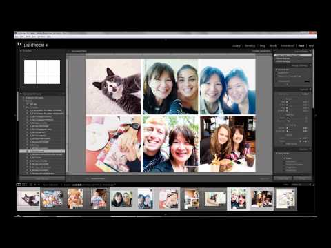 Creating Photo Collages in Lightroom Part 2: 4x6 with 4 Photos & 6 Photos