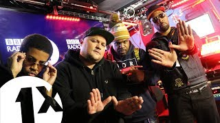 Wu Tang Clan (RZA, William Burke IV & Mathematics) - Fire In The Booth