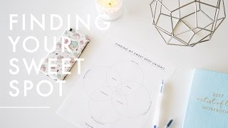 How to Figure Out What to Do With Your Life (Ikigai / Career Sweet Spot) + Free Worksheet
