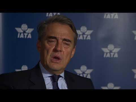 Alexandre de Juniac welcome to IATA 2018