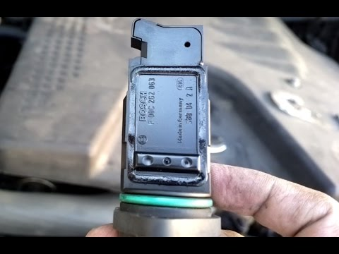 Mass Air Flow - MAF Sensor Cleaning - Mahindra Scorpio CRDe - BOSCH