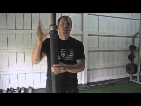 How to make an axle thick bar (cool gym equipment!)