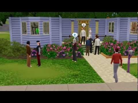 Garden Wedding in Sims 3..