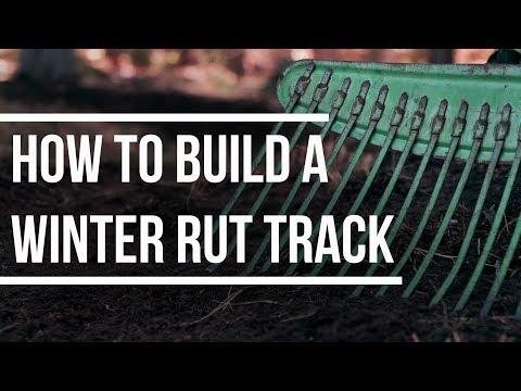 How To Build a Neighborhood Rut Track