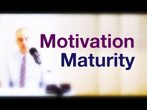 Maturity and Long Run Motivation