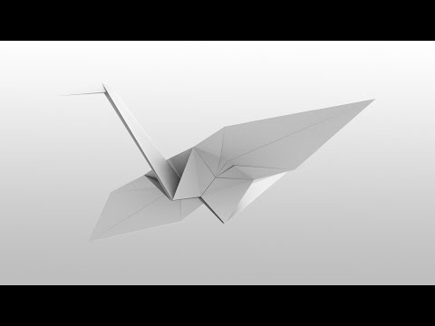 Paper Bird Origami Flapping Bird | How to Make an Origami Crane | Easy Steps by Ashvini