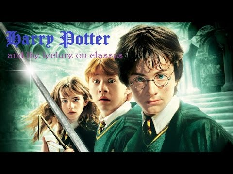 Harry Potter and the lecture on Classes (in Python)
