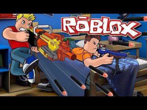 Roblox | ULTIMATE NERF GUN WAR - Nerf Guns in Roblox! (Blue vs Orange Roblox)