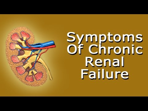 Symptoms Of Chronic Renal Failure