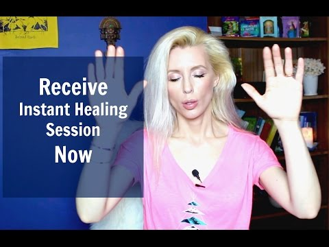 Receive Instant HEALING SESSION Now