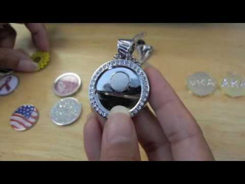 How to change charms in your Chameleon Magnetic necklace