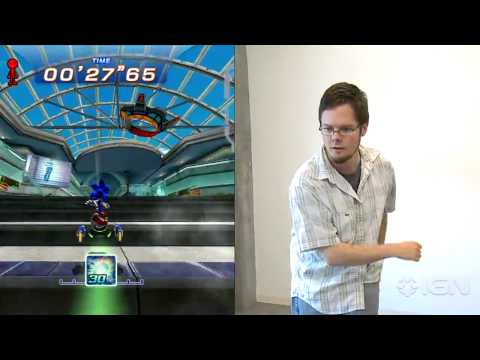 Kinect: Sonic Free Riders - Fancy Tricks Gameplay