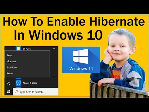 How To Enable Hibernate In Windows 10 And Disable Hibernate In Windows 10?