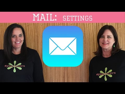 iPhone / iPad Mail - Settings