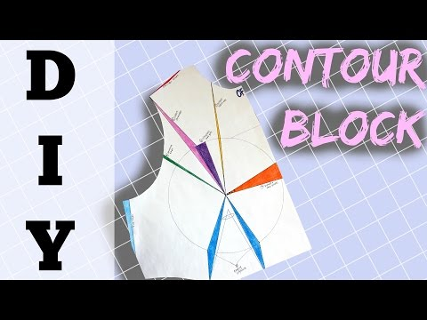 How to Make a Contour Block for Fitted Garments