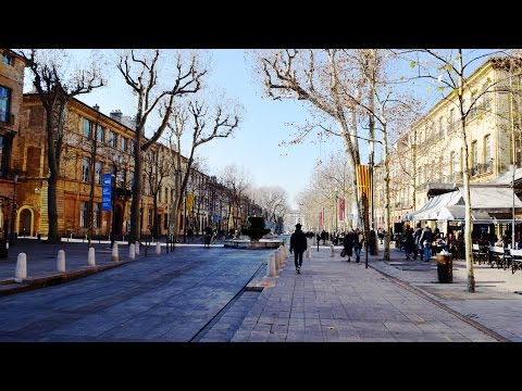 Aix-en-Provence - Walking Tour (With Costa Diadema)
