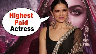 Deepika Padukone's CUTE Reaction When Journalist Said You Are The Highest Paid Actress In India