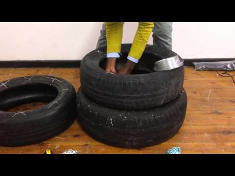 Building a Tyre Seat