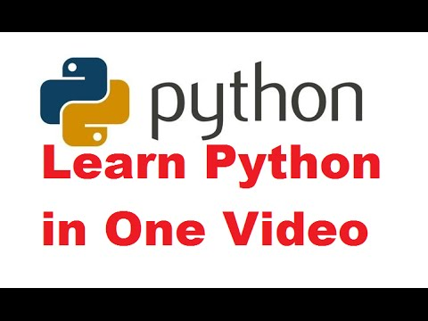 Python Programming Tutorial   Learn Python programming   Python language