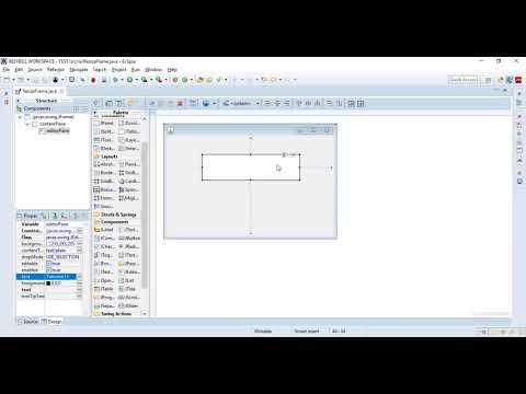 How to Automatically size JEditorPane inside JFrame Eclipse