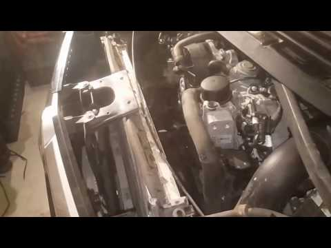 replacing cooling fan on mercedes GL450 X164