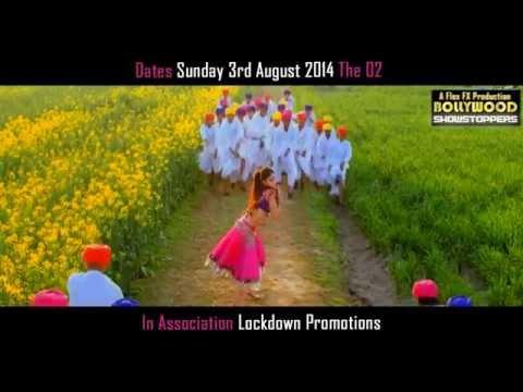 Bollywood Concert London 2014. Shahid K, Sonakshi S, Jacqueline F. Ali Z. Mika S. Live @ The O2