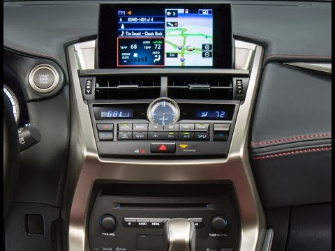 How to Remove Radio / Navigation from Lexus NX200t 2016 for Repair.