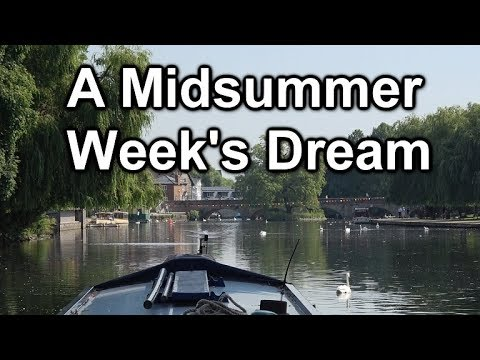 113. Narrowboat trip from Offenham lock to Stratford-upon-Avon