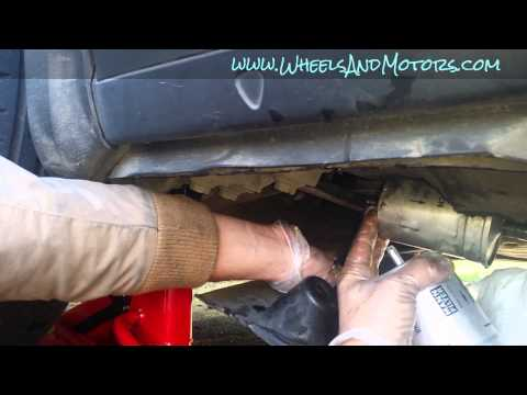 VW Passat (B5, B5.5 - 1.8T) service: how to change fuel filter.