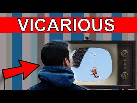 Learn GRE Vocabulary Words: VICARIOUS Meaning