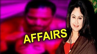 Ayesha Jhulka Controversial Affairs With 4 Men  Manisha Caught Her Red Handed With Nana Patekar