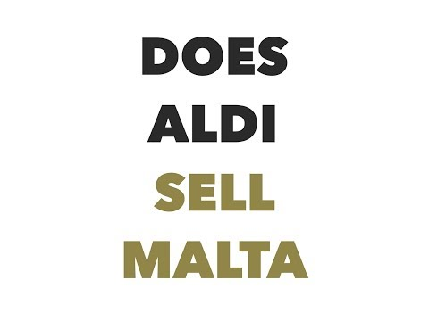 Does aldi sell malta to satisfy your thirst?