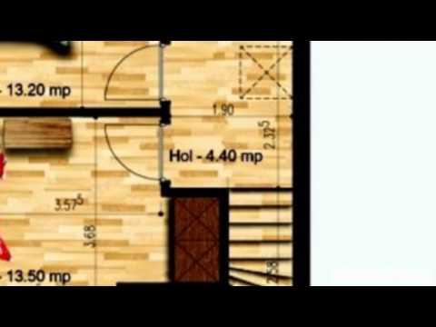 Vanzare Vila Parter+1 etaj, 25 m² teren, zona DN 4, Popesti Leordeni. Vanzare 61.000 euro